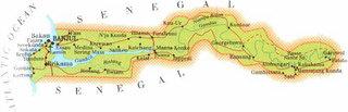 ガンビア 地図 バンジュール カニライ カラギ クンタウル ケレワン ジャンジャンブレア.jpg
